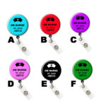At Your Cervix OB Nurse Retractable ID Badge Holder: Group Shot