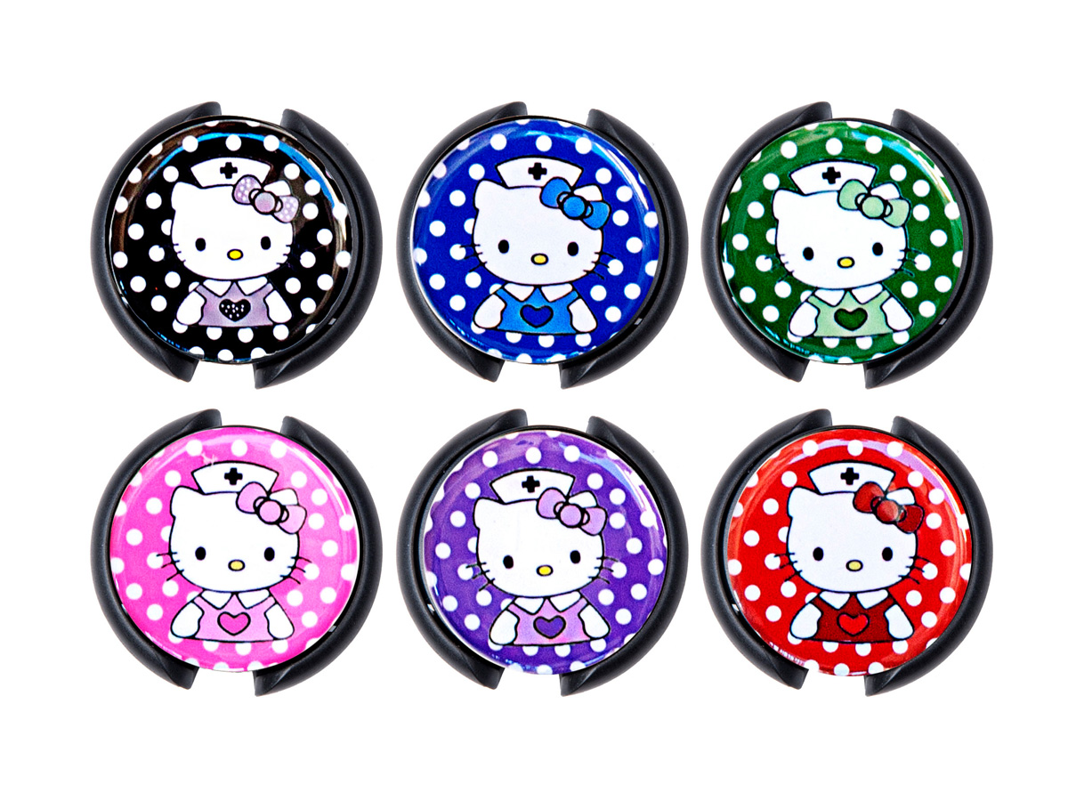 Hello Kitty Polka-Dot Nurse Stethoscope ID Badge Name Tags: Homepage Slider