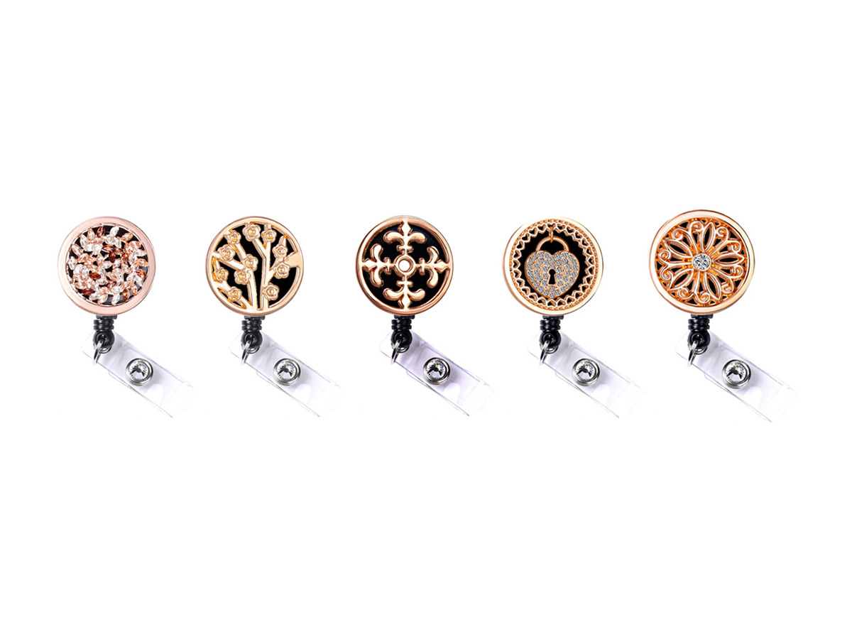 Coin Plate Badge Reel Retractable ID Badge Holders: Homepage Slider
